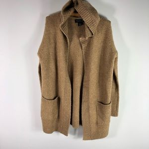 NEW Rachel Zoe Cardigan Sweater Oversized Camel